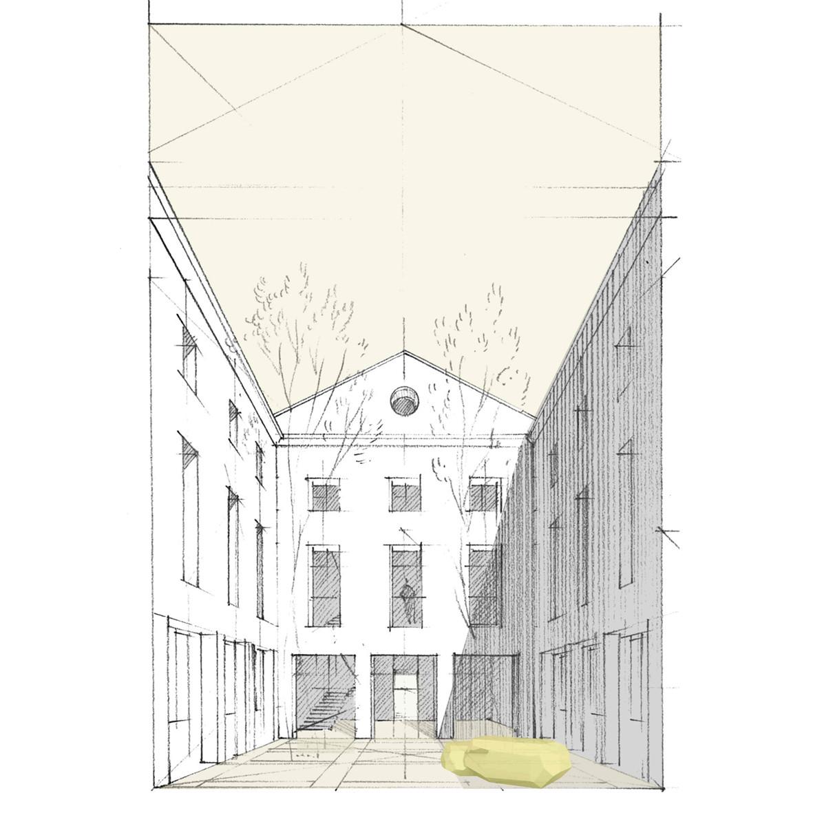 Solution B ILOT - Réhabilitation de l'ancienne distillerie en bureaux & logements