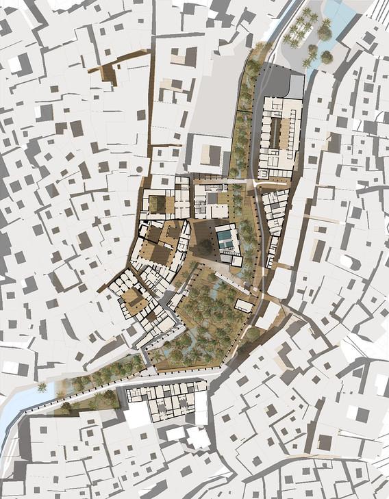 Plan de restructuration du quartier des tanneurs