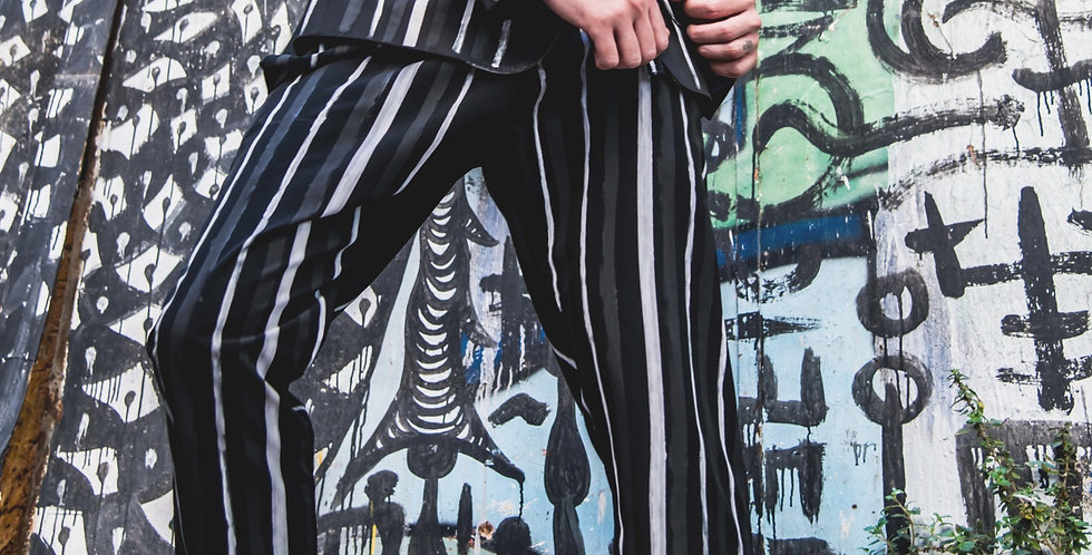 Painted Pants - Black