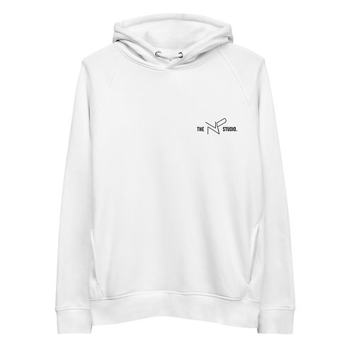 The NP Studio limited edition hoodie white