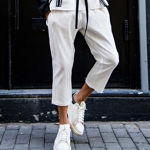 Bamboo Pants - White