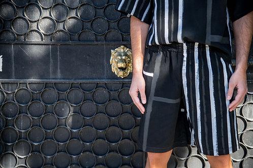 Painted Shorts - Black