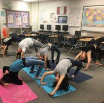 Robison Middle School Yoga Club