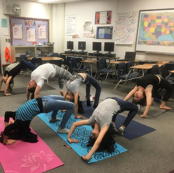 Robison Middle School Yoga Club