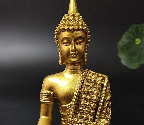 Golden-Thailand-Buddha-Patung-Hindu-Feng