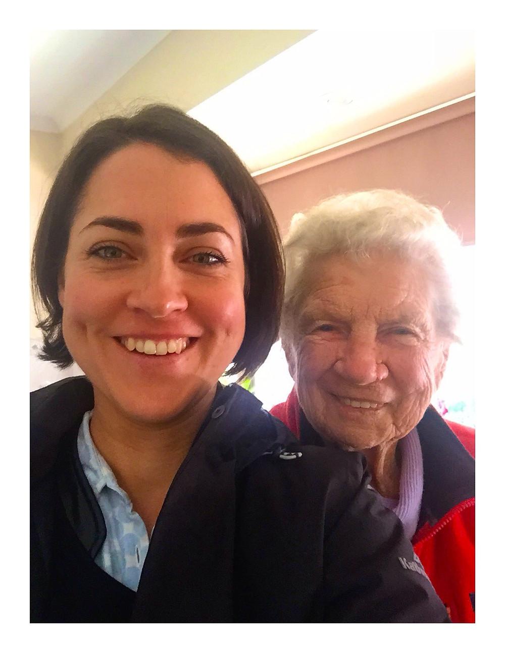 My friend - Aunty Greta