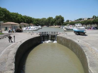 Canal du midi    le Port