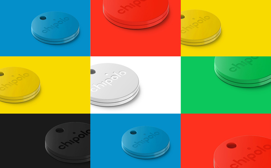 New Chipolo Bluetooth Key Finders