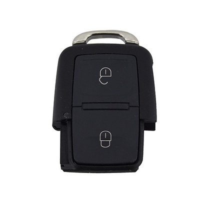 VW, Seat & Skoda 2 Button Remote Case - CASE ONLY