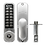 Thumbnail: ASEC AS3300 Series Easy Code Change Digital Lock With Key Override & Optional HB