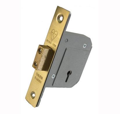 Union 3G114E British Standard 5 Lever Mortice Lock