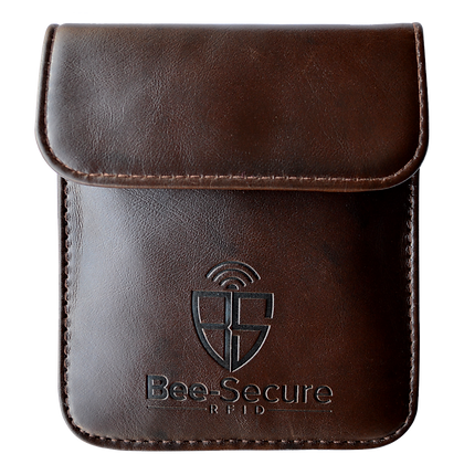 Bee Secure RFID Key Pouch - PU Leather
