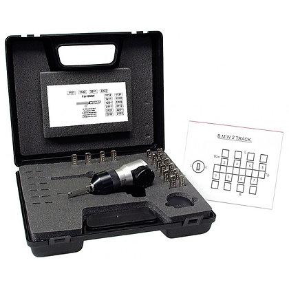 Wendt Decoder for BMW 2 Track Locks inc Master Keys