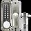 Thumbnail: ASEC AS3300 Series Easy Code Change Digital Lock With Optional Holdback