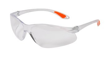 Avit Clear Wraparound Safety Glasses