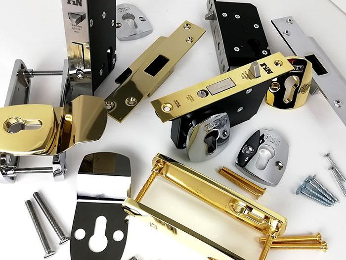 The New FinBolt! The Lock that never forgets to lock itself.