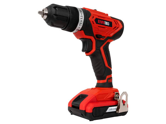 Olympia Tools Cordless Drill Driver 20V 1 x 1.5Ah Li-ion