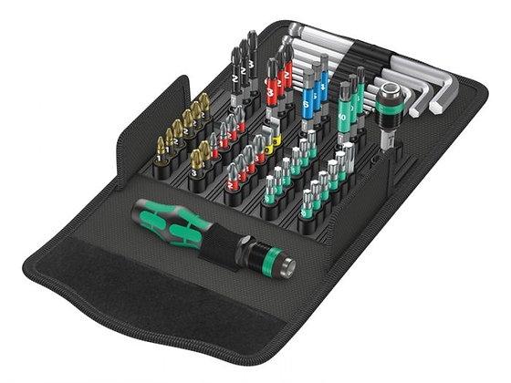 Wera Kraftform Kompakt Screwdriver Bit Set of 52