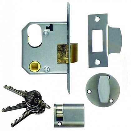 Union 2332 Oval Mortice Latch Complete