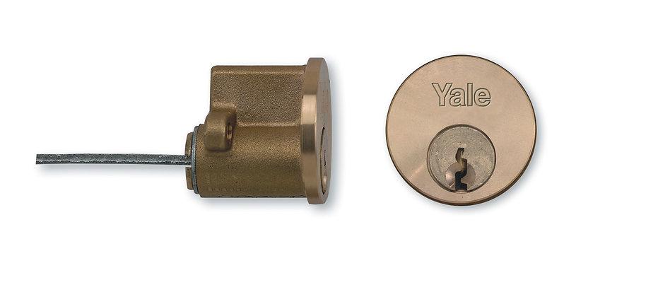 Yale 1109 Rim Cylinder Brass (Box of 12)