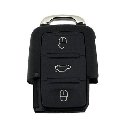 VW, Seat & Skoda 3 Button Remote Case - CASE ONLY