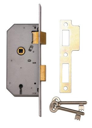 Union J2288 Large 3 Lever Mortice Sashlock