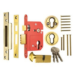 ERA 234-334 Fortress BS Euro Egress Sashlock With Cylinder