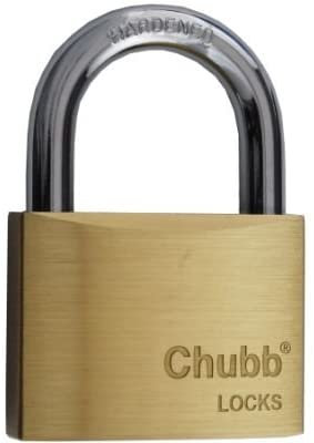 Chubb 60mm Standard Brass Padlock