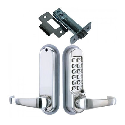 CODELOCKS CL500 Series Digital Lock With Tubular Latch