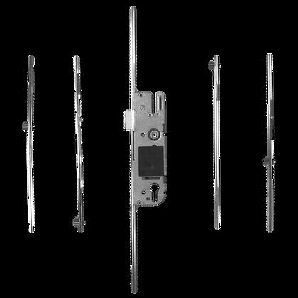 GU Lever Operated Latch & Deadbolt - 4 Roller