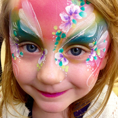 Facepainted Fairy