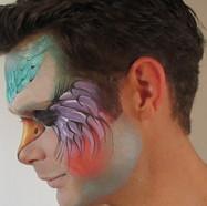 Theatrical facepaint