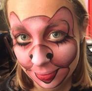 Pig party facepaint