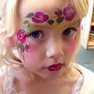 School fete facepainting