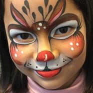 Animal face paint