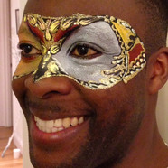 Mask facepainting