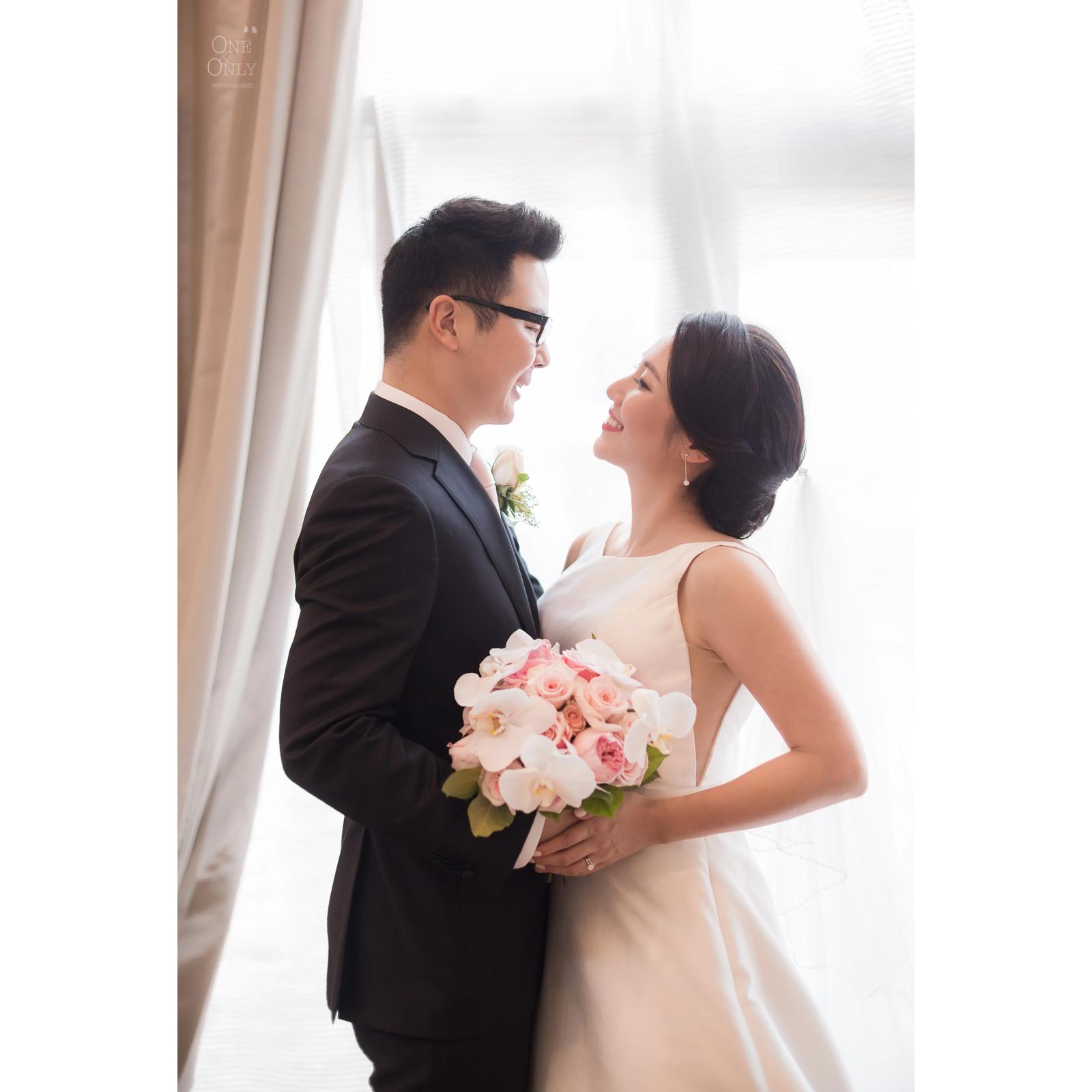 Lauren+James' wedding day