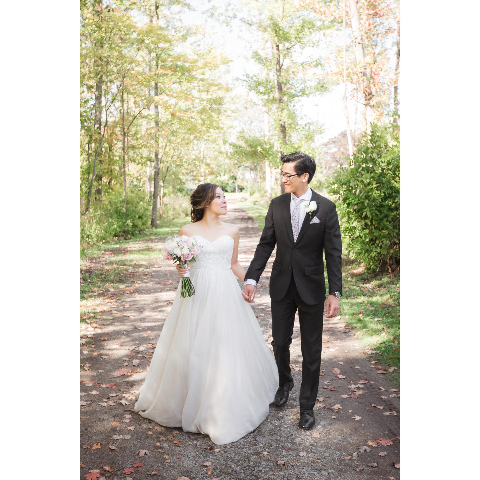 Summer + Mark's wedding day