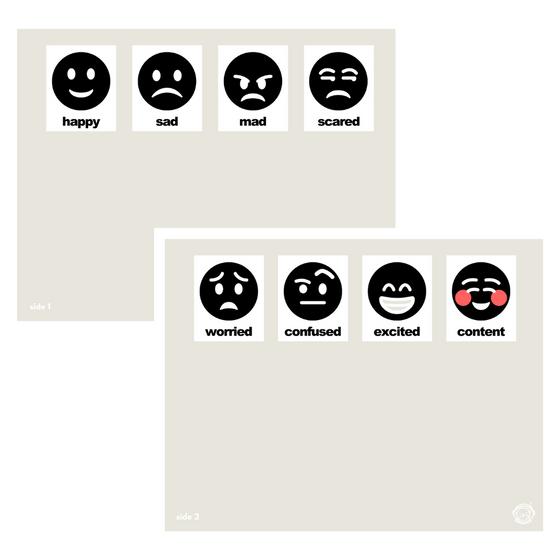 Emotion Matching Activity Mat