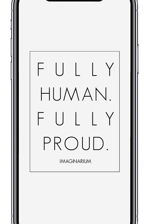 Fully Fully WHITE Mobile Wallpaper