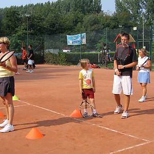 Tenniskliniek 2006