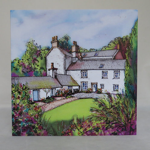 Laigh Biggin & 1745 House - Notecard