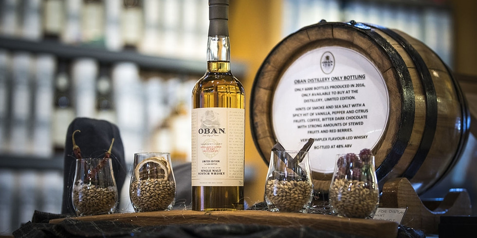 Oban Distillery Tour With Tasting 12 pm