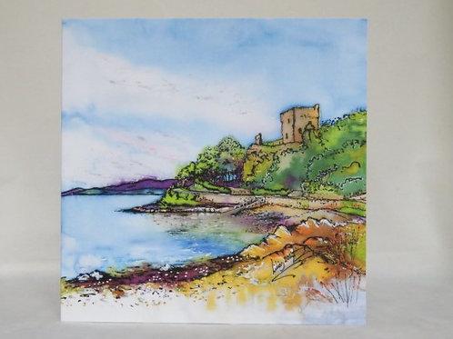 Dunollie Castle - Notecard