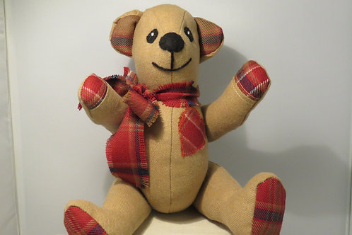 """Oban"" Handcrafted Collectable Teddy"
