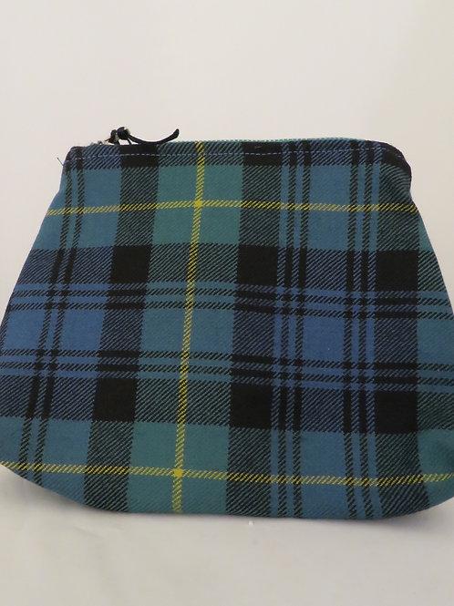 Gordon Tartan Handmade Zip Bag