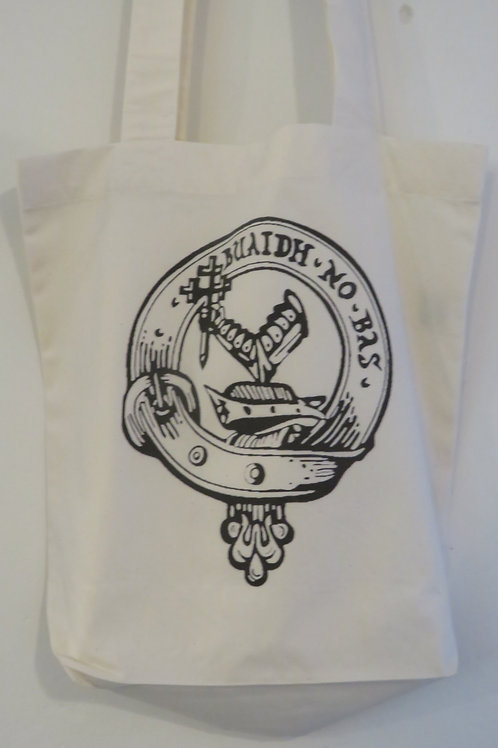 Clan MacDougall Cotton Tote Bag