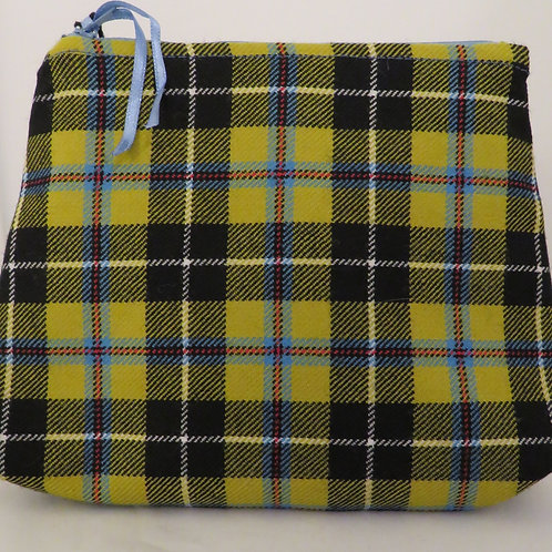 Cornish National Tartan Handmade Zip Bag