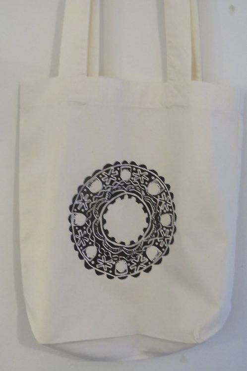 Brooch of Lorn Design Cotton Tote Bag