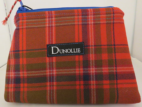 Heritage MacDougall Tartan Handmade Zip Bag